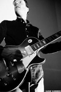 Guitarist Jurgen Burdorf