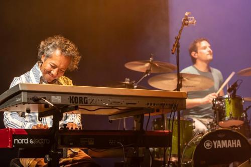 Tico Pierhagen & Willem Smid - Jurgen Burdorf Band Live in Parkvilla, Alphen aan den Rijn, 2020