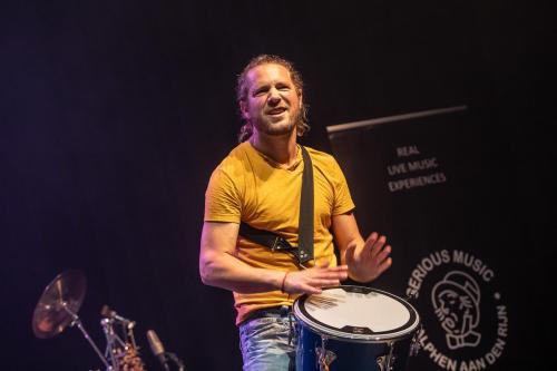 Gijs Anders van Straalen - Jurgen Burdorf Band Live in Parkvilla, Alphen aan den Rijn, 2020